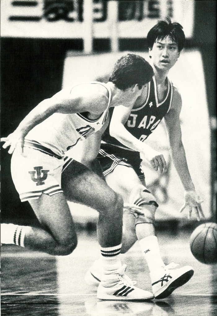 Vs. Indiana Hoosiers (Kirin World Basketball Jun, 1985)